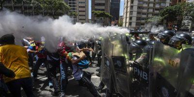 Muere una mujer cerca de una protesta en estado venezolano de Táchira