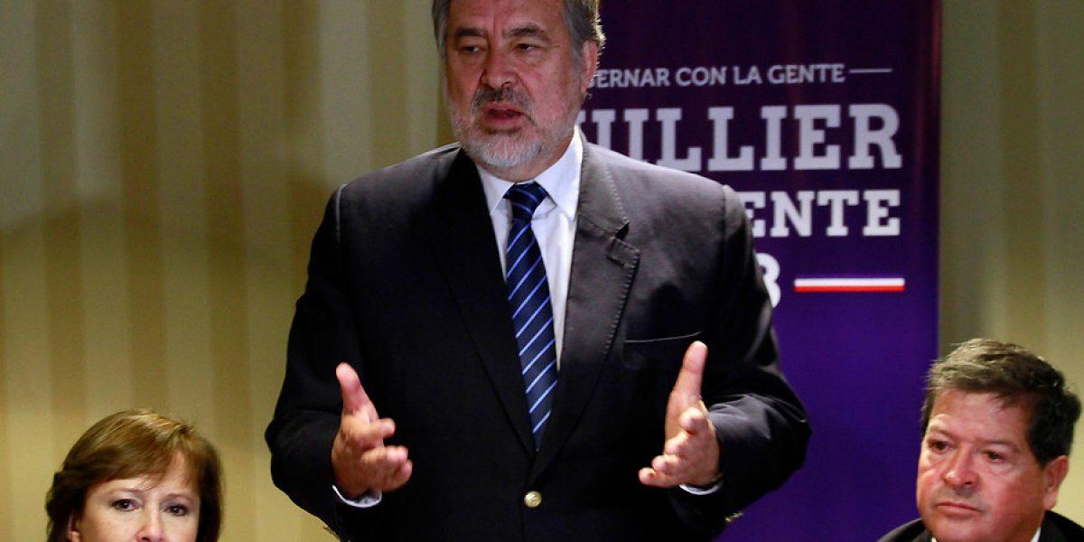 Guillier culpa a Bachelet por favoritismo de Piñera:
