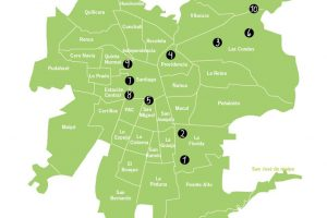 En el Gran Santiago: Los mayores ejes residenciales