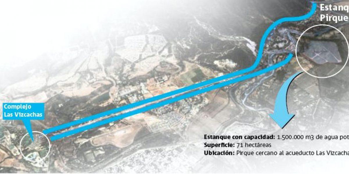 Este es el proyecto que busca disminuir los cortes de agua en Santiago