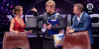 Caracterizado de Michelle Bachelet Yerko Puchento hizo de las suyas en