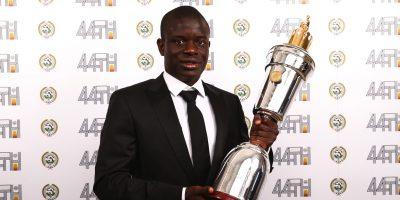 Kante, elegido el mejor del año por la Asocicación de Jugadores