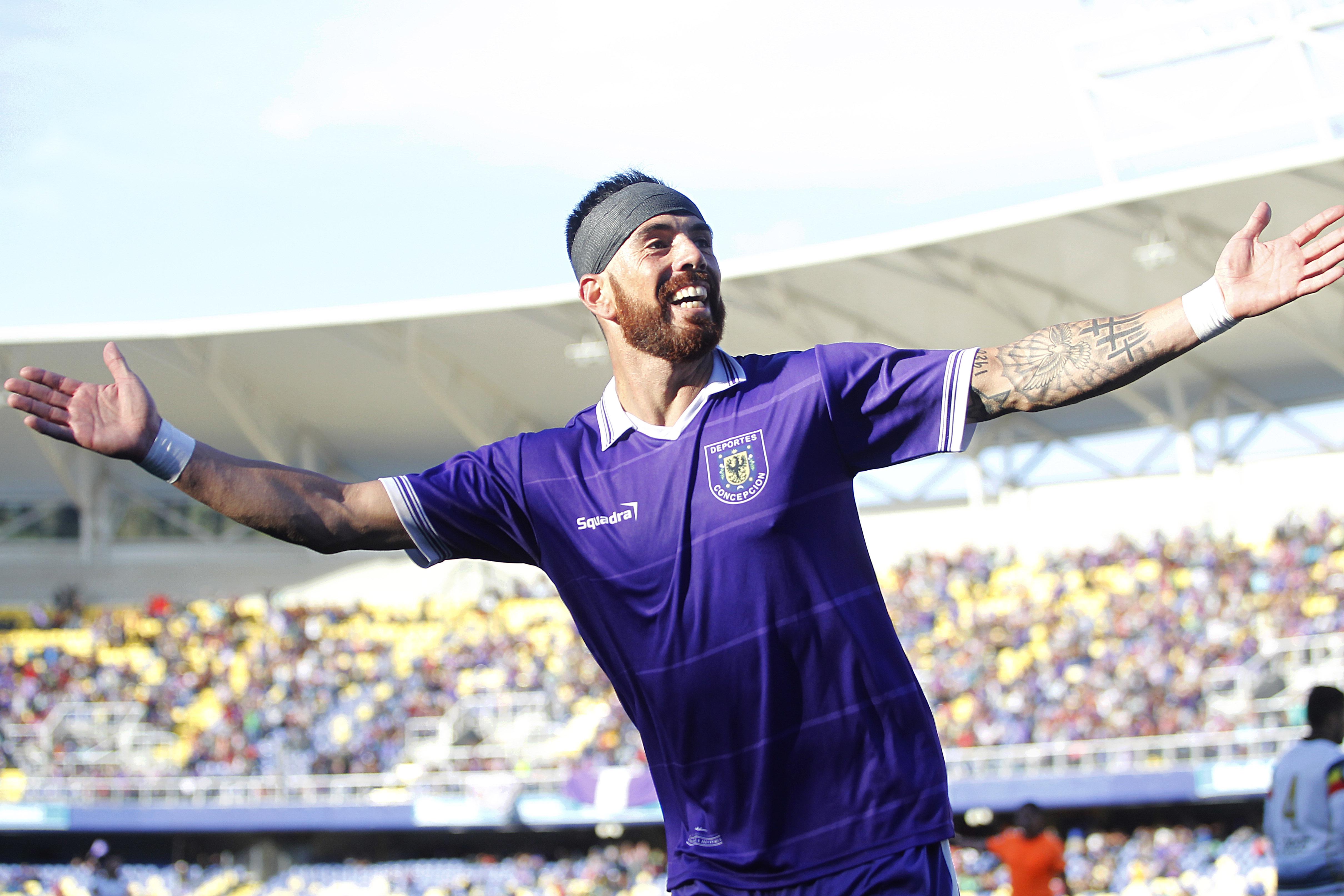 Gazale en su regreso goleador (Foto: Photosport)
