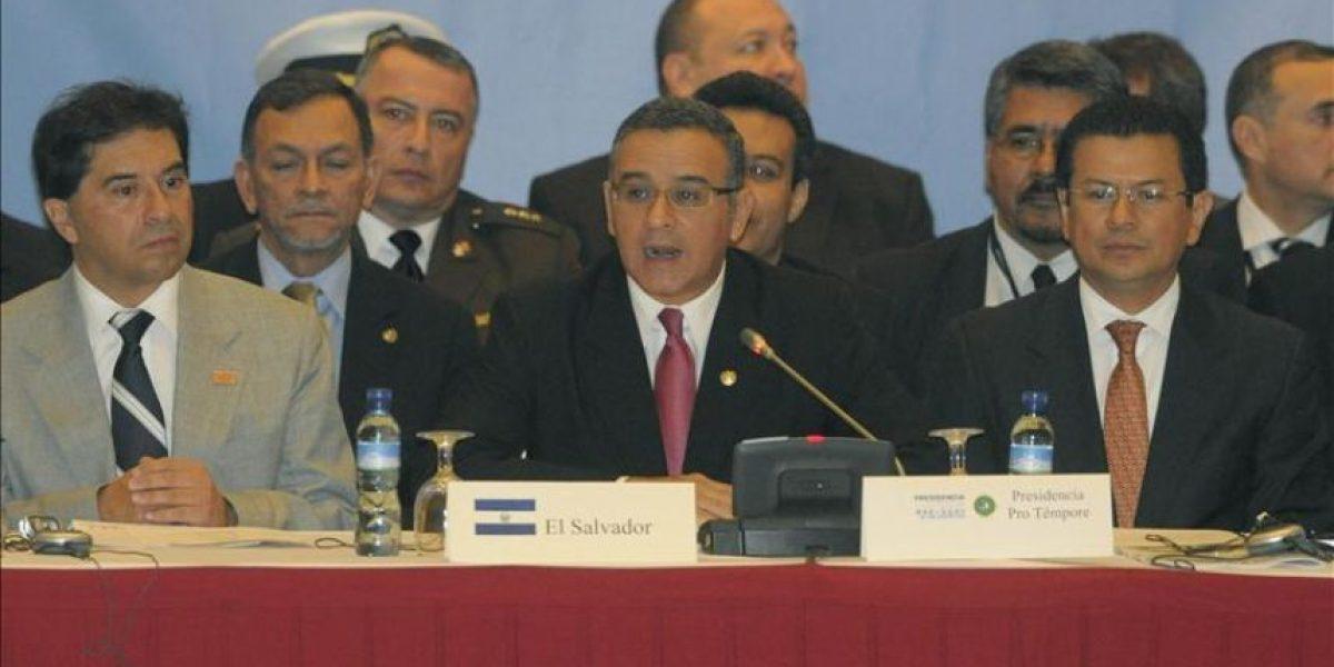 Comunidad internacional apoya a Centroamérica pero no especifica el monto de las ayudas