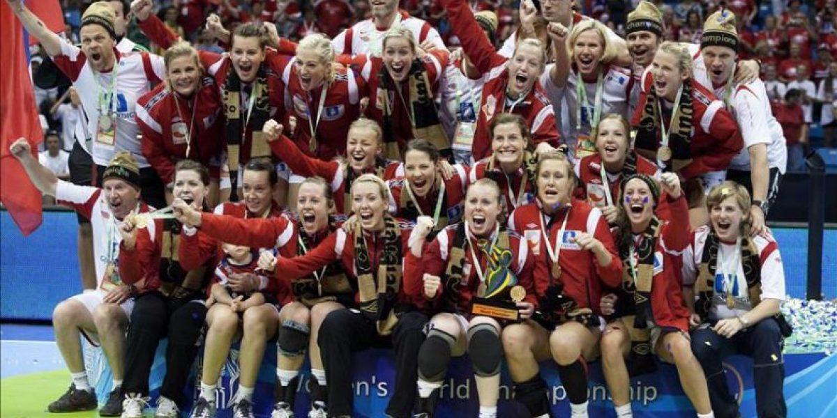 Noruega gana el Mundial de balonmano femenino