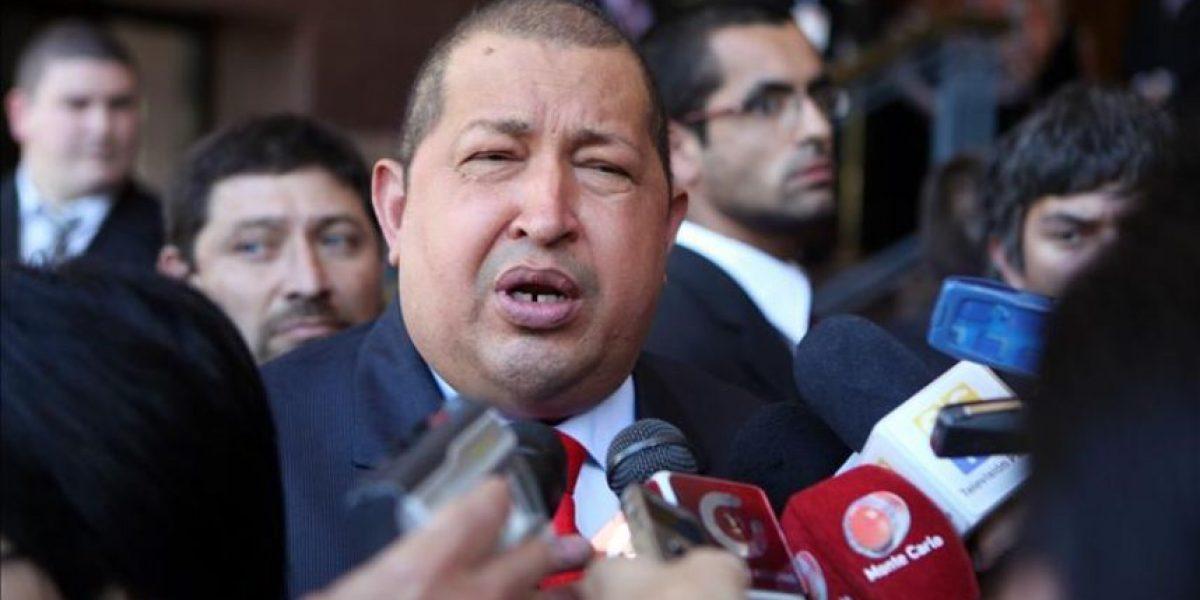 Chávez dice que el ingreso de Venezuela a Mercosur está frenado por