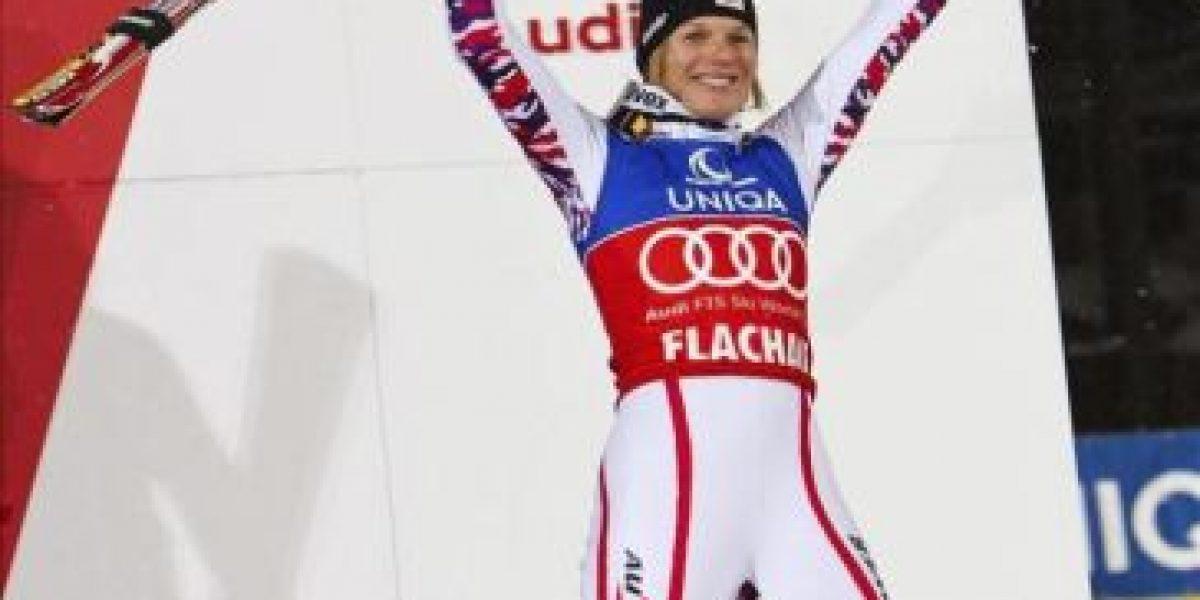 La austríaca Schild suma su tercer eslalon consecutivo tras vencer en Flachau