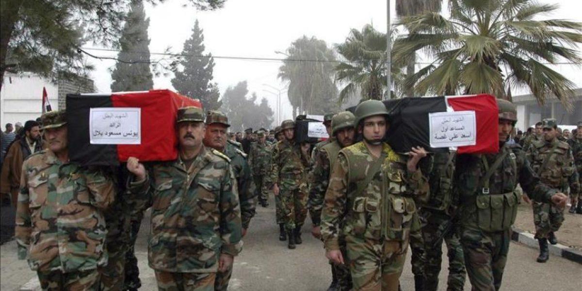 Al menos 62 muertos en Siria por la represión del régimen, según los opositores