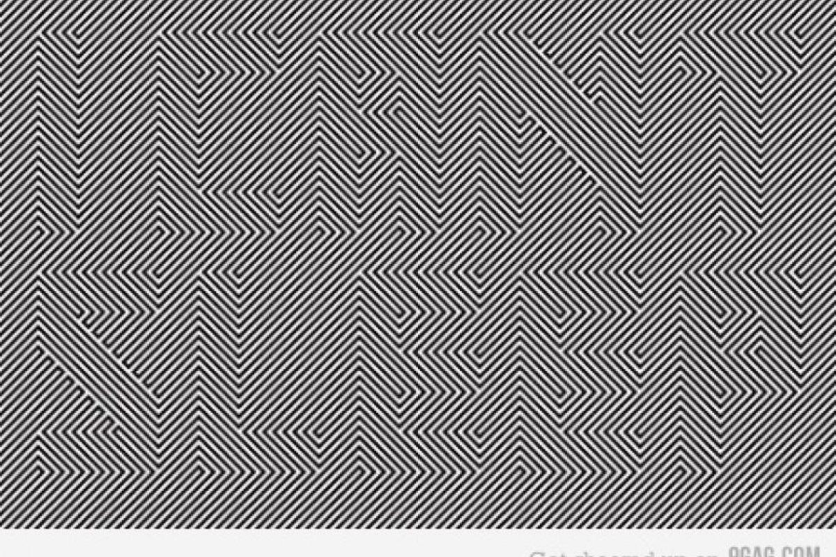 Mire fijamente la imagen y encontrará un texto oculto en ella. Foto:9gag.com