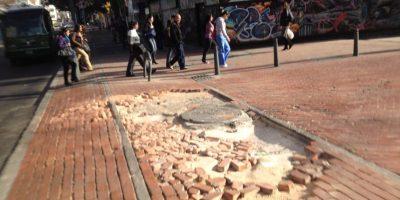 La falta de mantenimiento hace que algunas calles sean intransitables. Foto:Federico Arango – Publimetro