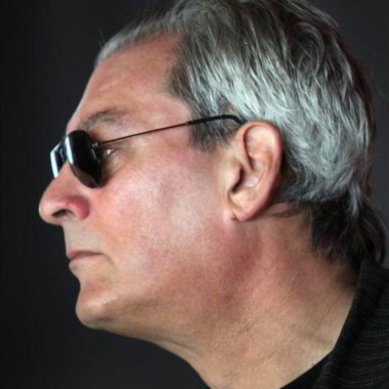 """El escritor estadounidense Paul Auster ha presentado hoy en Barcelona su última obra, """"Diario de invierno"""", escrita en el Nueva York de principios de 2011, una particular autobiografía en la que se observa a sí mismo desde fuera. EFE/Toni Albir"""