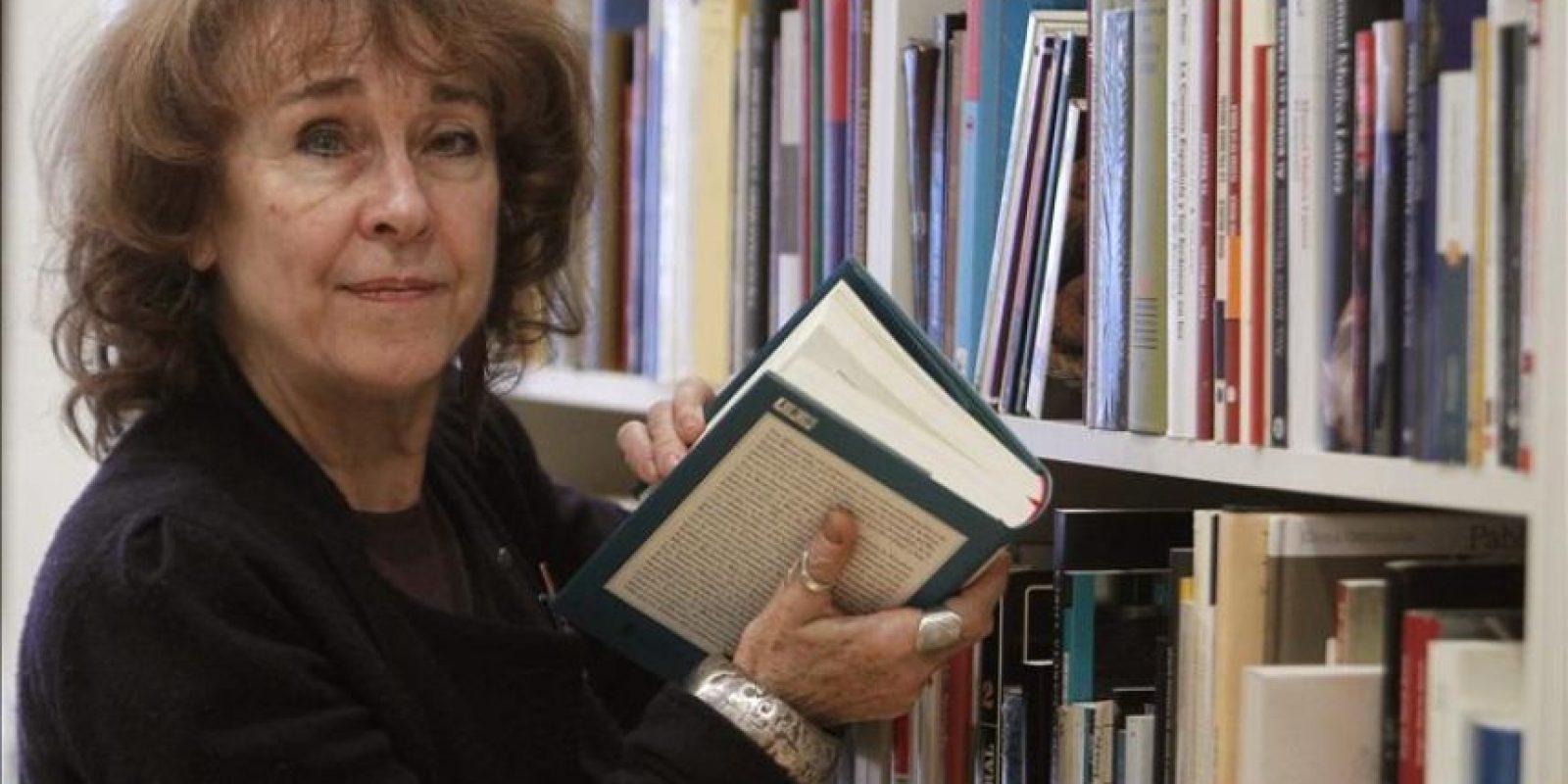 Rosalba Campra, de la Università La Sapienza, de Roma, experta en la obra de Julio Cortazar que participa en el encuentro que celebra el Centro de Arte Moderno de Madrid. EFE