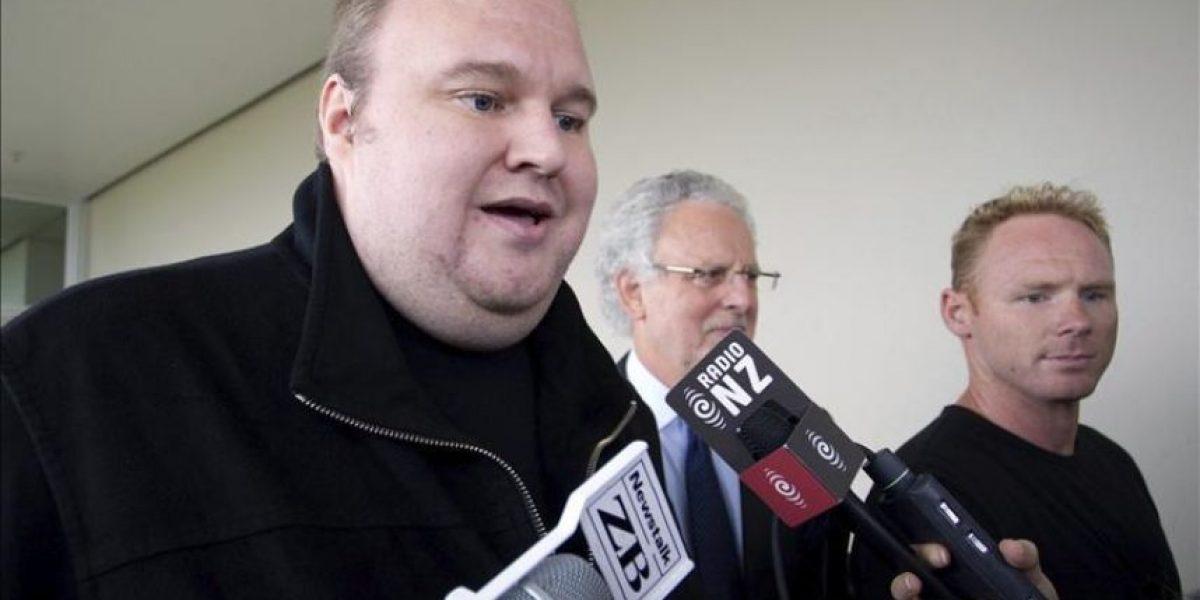 Nueva Zelanda excarcela al fundador de Megaupload reclamado por EE.UU.