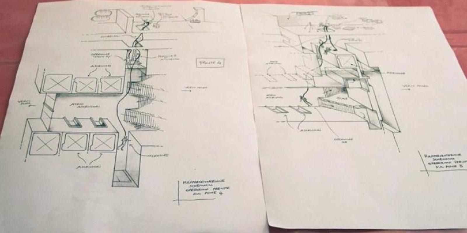 Plano de las operaciones de rescate de víctimas del naufragio del Costa Concordia, en la isla italiana de Giglio, hoy, miércoles, 22 de febrero de 2012. EFE