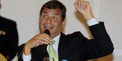"""La petición de la CIDH es """"un disparate total"""" , señaló el presidente de Ecuador, Rafael Correa, en su cuenta de Twitter. EFE/Archivo"""