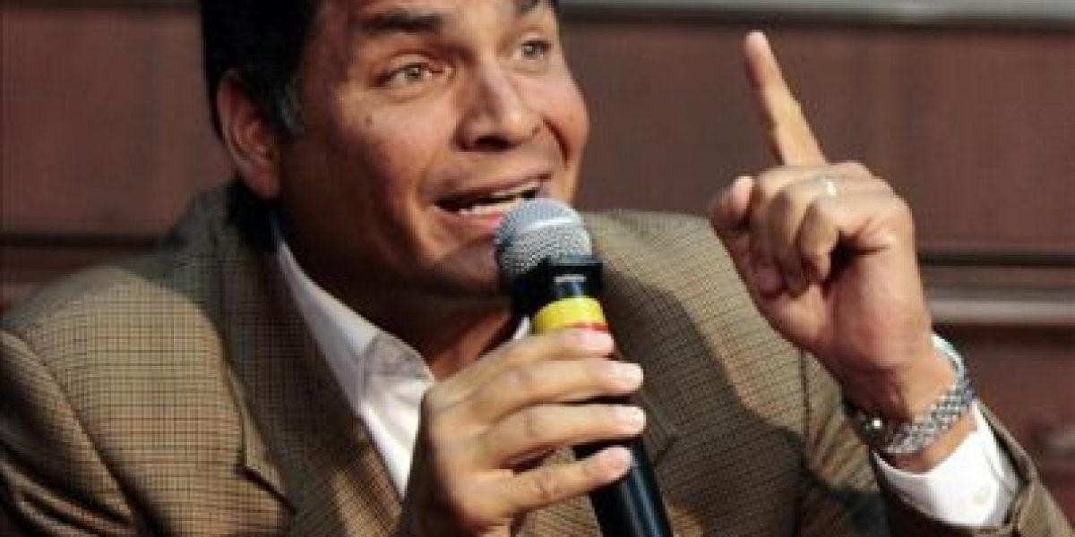 Correa abre la posibilidad de pedir anular la condena al El Universo por injurias