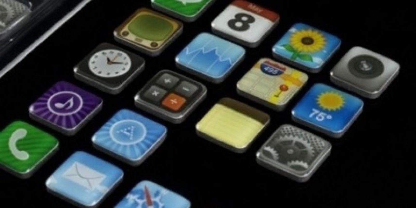 Imanes en forma de apps Foto:buzzfeed.com