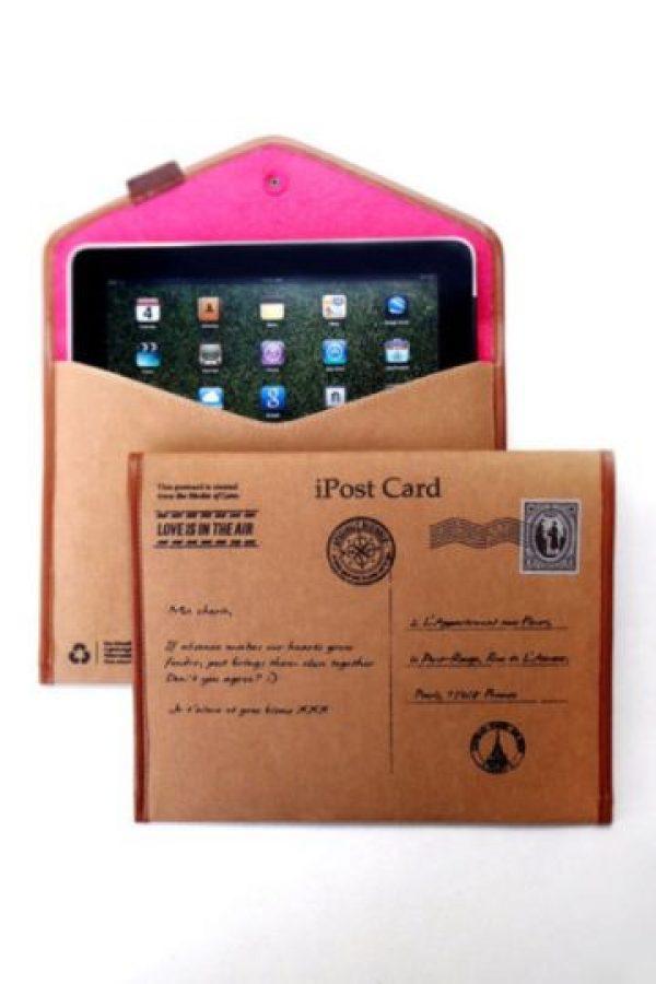 Estuche para iPad en forma de sobre Foto:buzzfeed.com