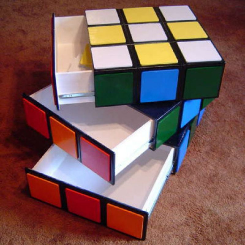 Cajones en forma de cubo rubrick Foto:buzzfeed.com