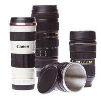 Tazas de café en forma de lentes de cámara Foto:buzzfeed.com