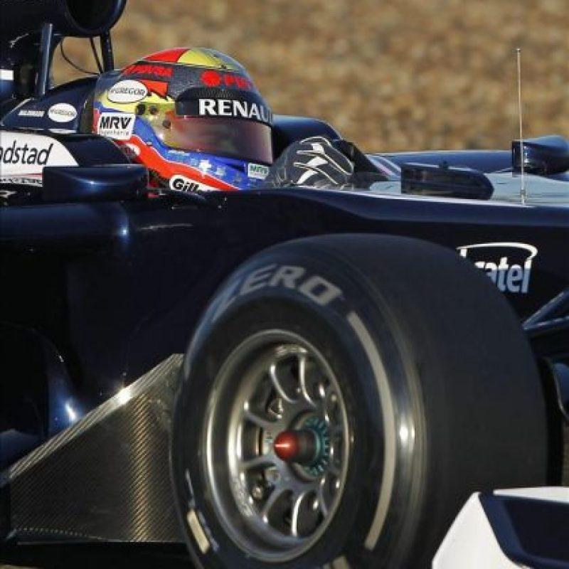 El piloto venezolano Pastor Maldonado. EFE/Archivo