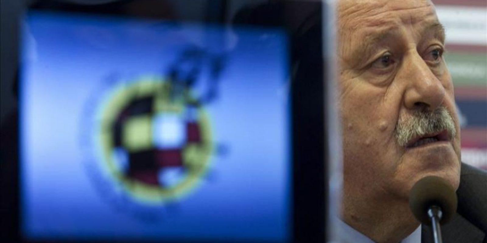 El seleccionador español de fútbol, Vicente del Bosque. EFE/Archivo