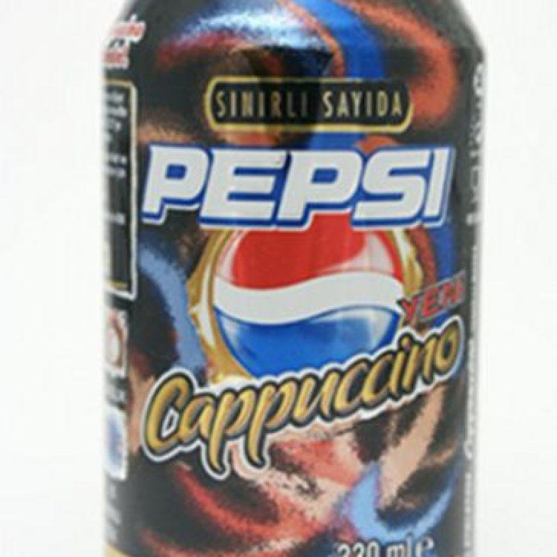 Pepsi Cappuccino (Rusia y Rumania) Foto:yista.com