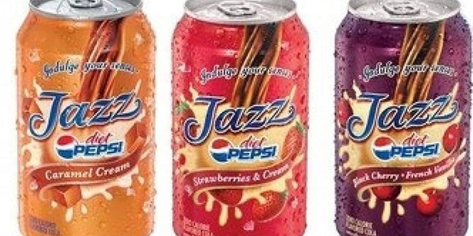 Pepsi Jazz (Estados Unidos) Foto:xtimeline.com
