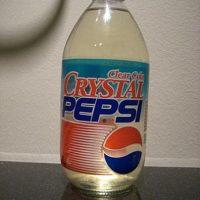 Pepsi Cristal es el sabor original pero transparente Foto:fuckyeahstuff