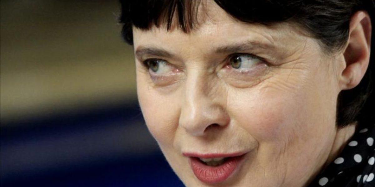 Rossellini denuncia en FICCI la persistencia de la violencia contra la mujer