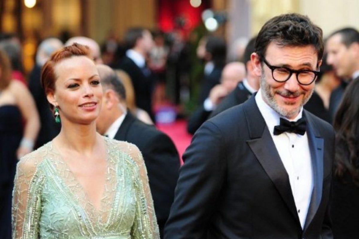 """Berenice Bejo y Michel Hazanaviciuos, director de """"El artista"""" Foto:AFP"""
