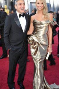 George Clooney y Stacy Keiblev Foto:AFP