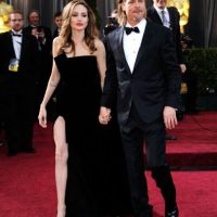 Angelina Jolie y Brad Pitt Foto:GETTY