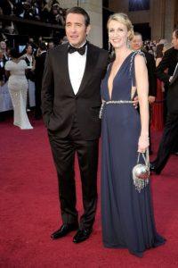 Jean Dujardin y su esposa, Alexandra Lamy Foto:GETTY