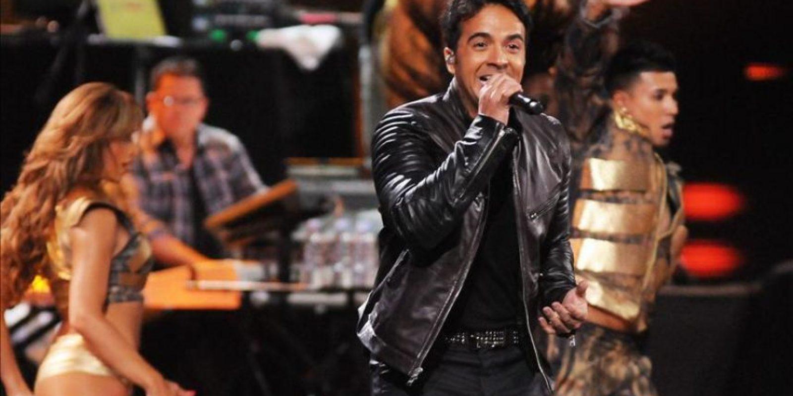El cantante Luis Fonsi, en el 53 Festival Internacional de la Canción de Viña del Mar (Chile). EFE