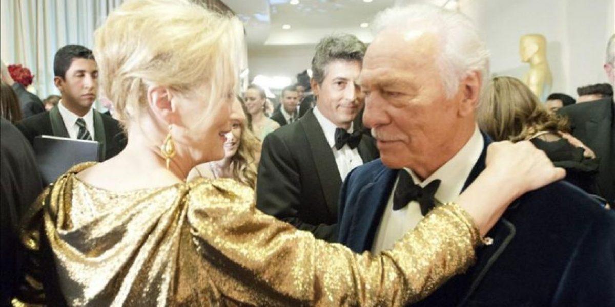 Christopher Plummer gana el Óscar como actor secundario y bate un récord de edad