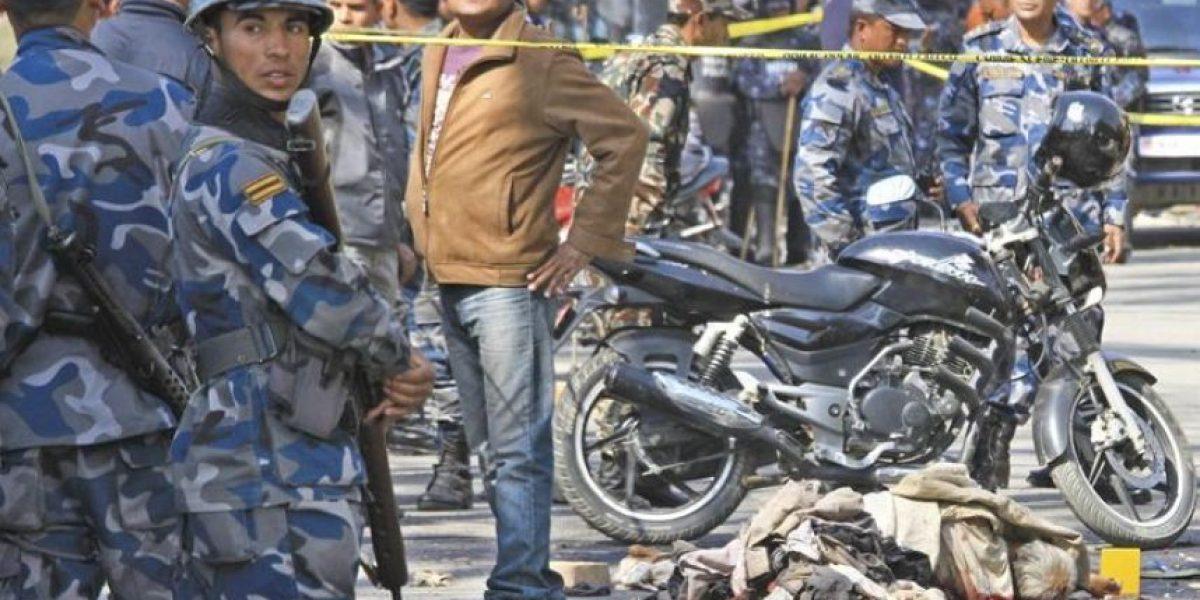 Dos muertos y seis heridos en la explosión de una bomba en el centro de Katmandú