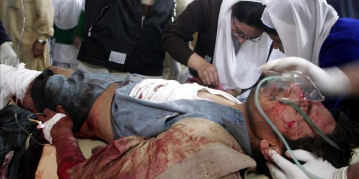 Cinco muertos por un atentado en una manifestación de un partido paquistaní