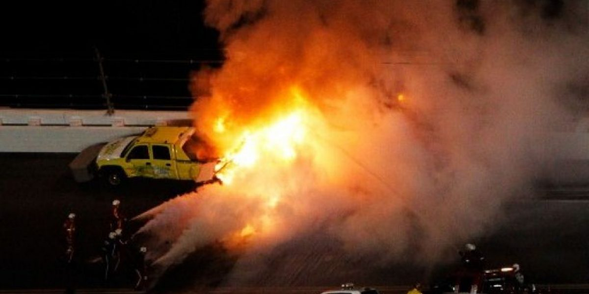 Segundo a segundo del accidente de Juan Pablo Montoya