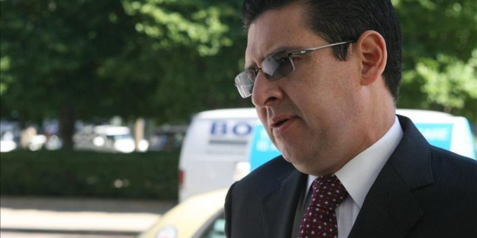 """""""Estamos en desacuerdo con la decisión del Tribunal Arbitral que, equivocadamente, ha aceptado los argumentos de las compañías Chevron-Texaco para asumir competencia"""", dijo el procurador general de Ecuador, Dr. Diego García Carrión. EFE/Archivo"""
