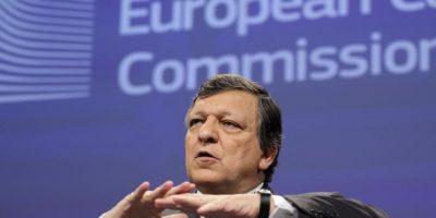 El presidente de la Comisión Europea, José Manuel Durao Barroso, comparece hoy en una rueda de prensa en la víspera de la reunión de jefes de Estado y de Gobierno comunitarios en Bruselas, Bélgica. EFE