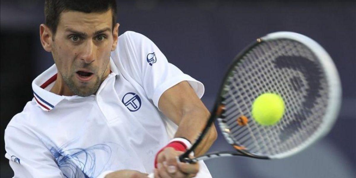 Duelo serbio en cuartos del torneo de Dubai, con Djokovic y Tipsarevic