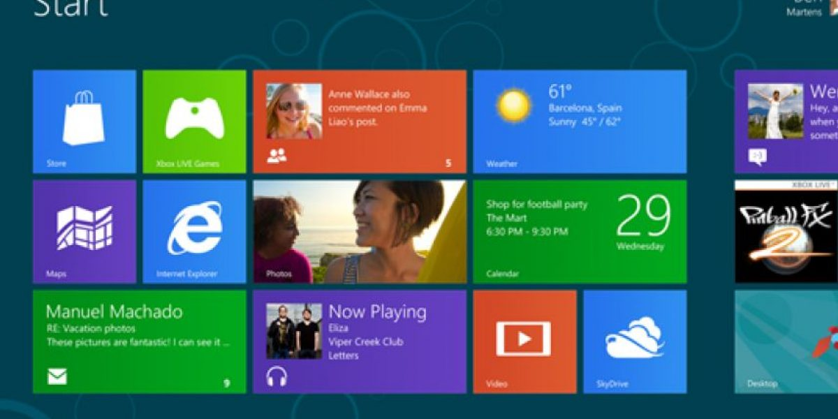 Disponible la versión Beta de Windows 8