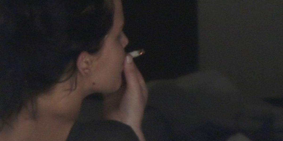 Celebridades 'pilladas' fumando marihuana