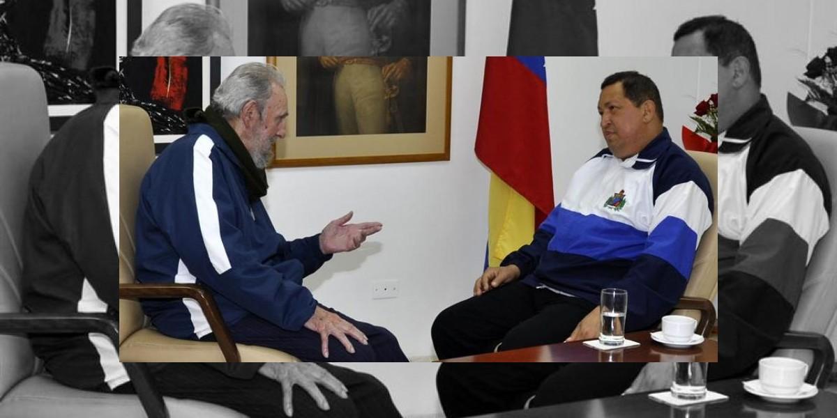 Difunden imágenes de Chávez después de la operación