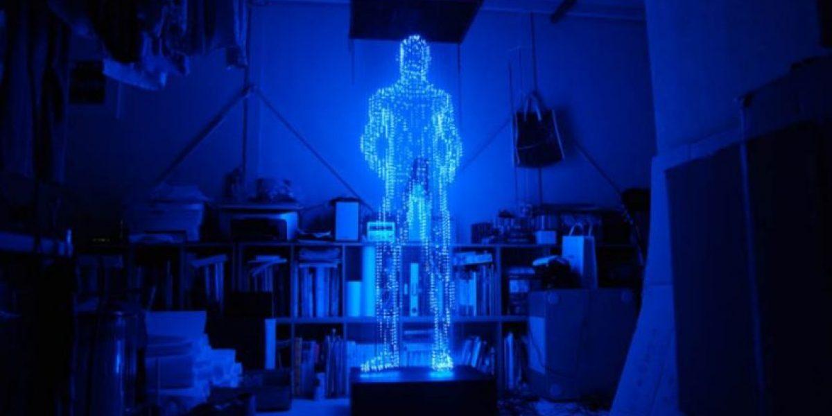 Increíbles esculturas hechas con luces