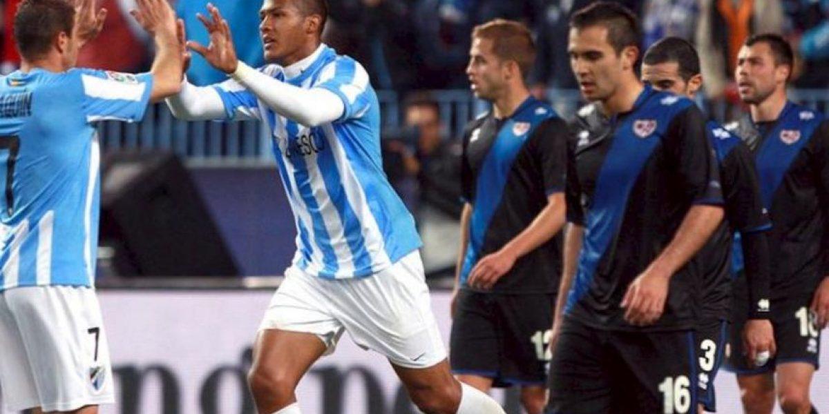 4-2. El Málaga no falla ante un Rayo valiente