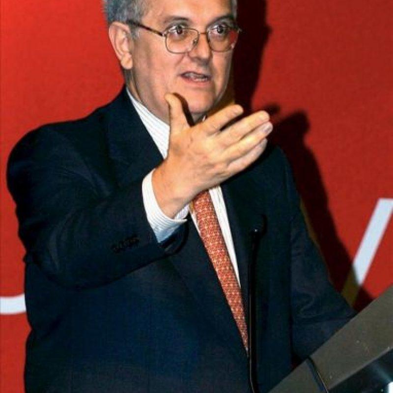 Fotografía de archivo fechada el 27 de septiembre de 2005, del colombiano José Antonio Ocampo, exministro y exsecretario General Adjunto de Naciones Unidas para Asuntos Económicos y Sociales. EFE/Archivo
