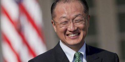 Jim Yong Kim, tras ser presentado por el presidente de los Estados Unidos como candidato a presidir el Banco Mundial. EFE