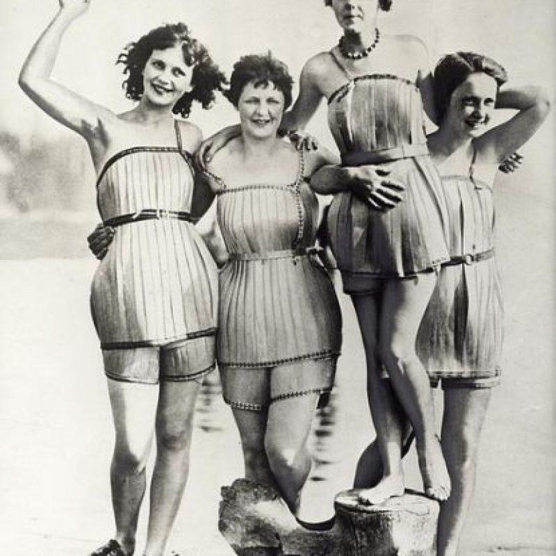 Vestidos de baño de madera Foto:brainpickings.org